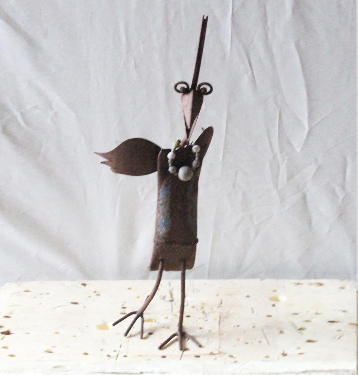 Verr ckter vogel dekor garten for Dekor garten schirrle
